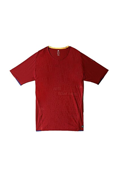adidas Erkek Bordo Futbol Tişörtü Azf50 Me Trg Te M69761