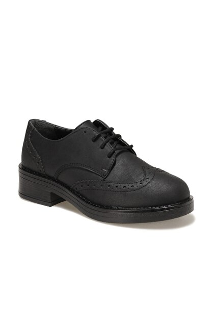 Polaris 316524.Z Siyah Kadın Maskulen Ayakkabı 100561938