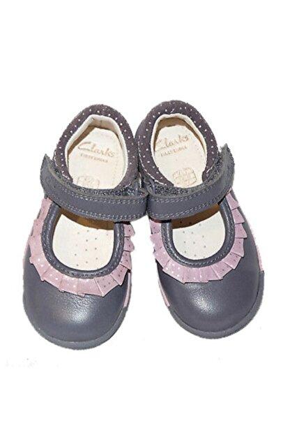 CLARKS Kız Çocuk 0-2 Yaş Ayakkabı Ortopedik 18-24