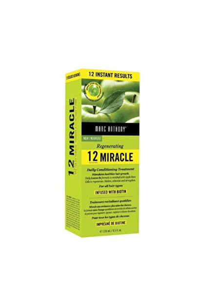 Marc Anthony Rejuvenating 12 Second Miracle Leave In Conditioning 135ml