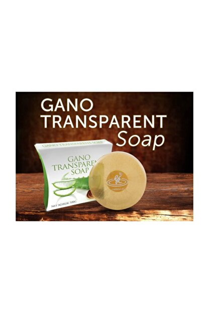 gano soap Transparent Soap Derma Mantarlı Şeffaf Sabun 100 gr