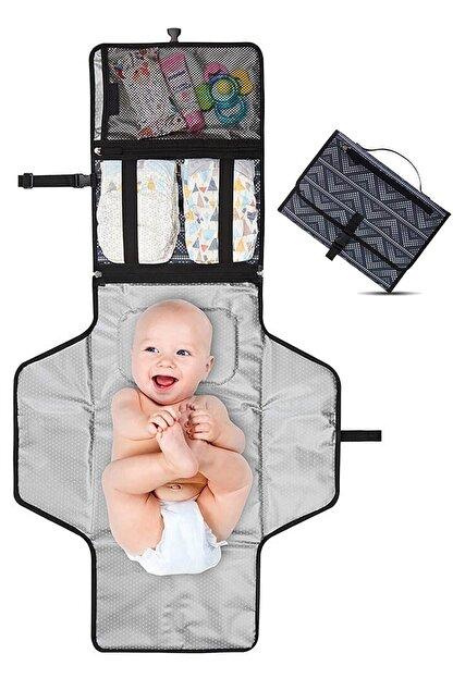 MHK Collection Bebek Alt Açma Örtüsü Fonksiyonel Bakım Çantası Alt Açma Minderi