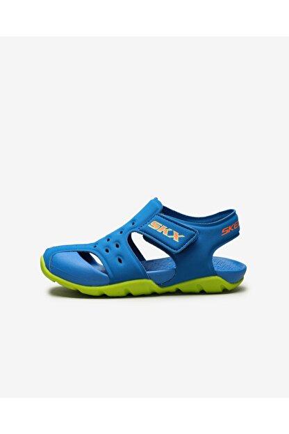 Skechers SIDE WAVE Küçük Erkek Çocuk Mavi Sandalet