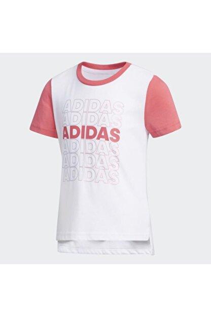 adidas Çocuk Günlük Giyim T-shirt Eh4082 Lg Cot Tee
