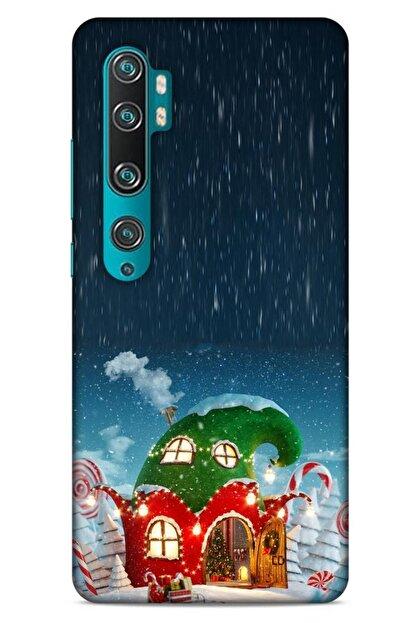 Lopard Xiaomi Mi Note 10 Pro Kılıf Snowix (7) Telefon Kılıfı Koyu Yeşil