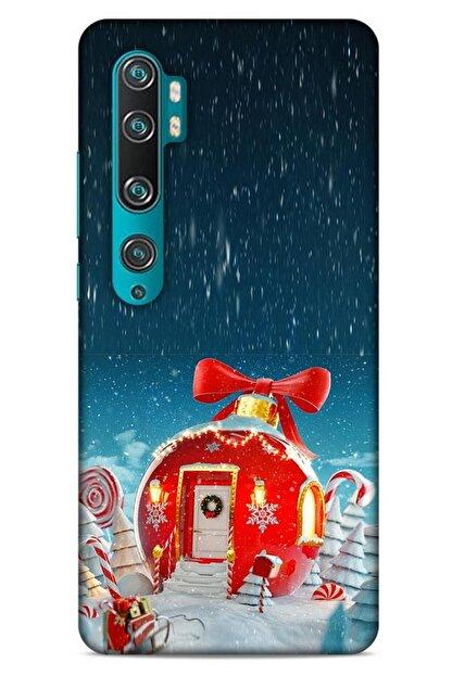 Lopard Xiaomi Mi Note 10 Pro Kılıf Snowix (9) Kılıf Kırmızı