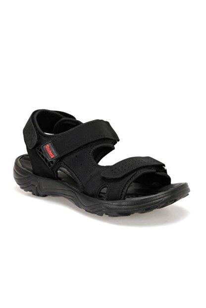 Dockers Dockers 100497778 228653 Siyah-kırmızı Erkek Sandalet
