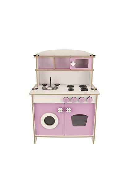WoodyLife Çocuk Oyuncak Mutfak Seti Montessori Kız Evcilik Oyuncak