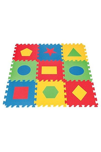 PİLSAN Polly Geometrik Şekilli Eğitici Yer Karosu Oyun Alanı