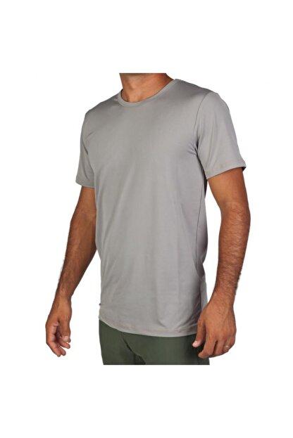 Exuma 171205 Erkek Gri Spor Tişört