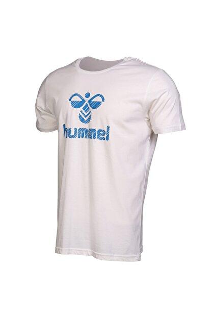 HUMMEL Rob Kısa Kollu Beyaz Tişört