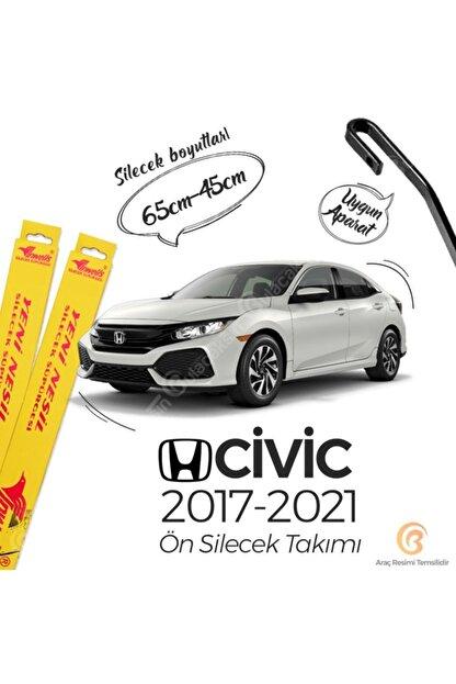 Inwells Honda Civic Fc5 Muz Silecek Takımı (2017-2021) Inwells