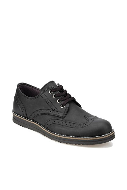 Polaris 92.356617.M Siyah Erkek Klasik Ayakkabı 100413988