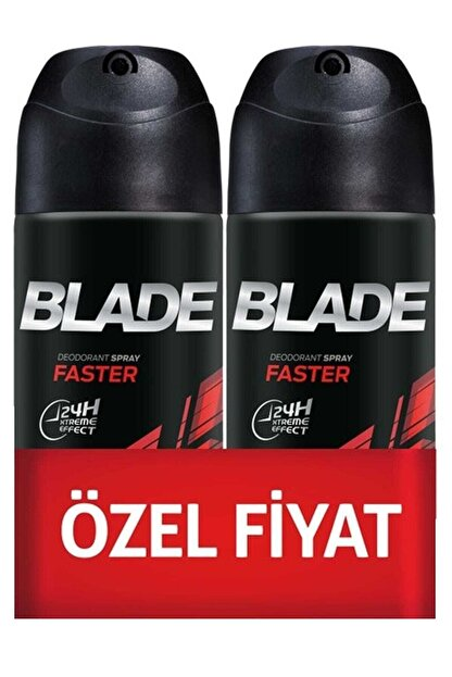 Blade Faster 150 ml 2'li Erkek Deodorant Seti