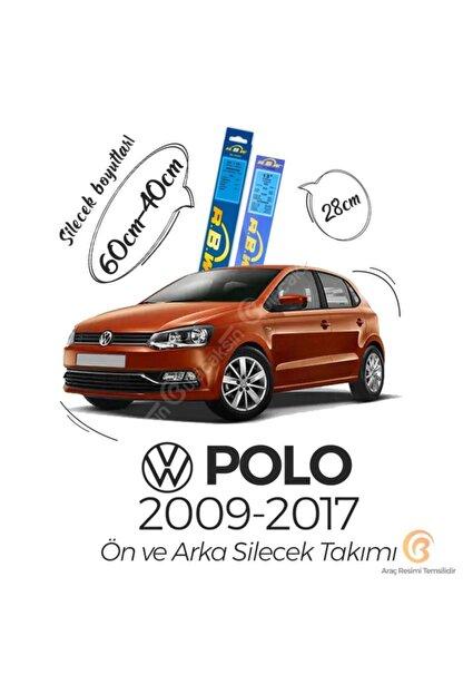 Rbw Volkswagen Polo 2009 - 2017 Ön Ve Arka Silecek Seti