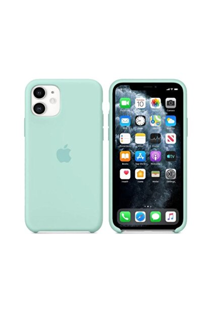 Nezih Case Iphone 11 Silikon Kılıf Marina Green