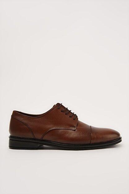 Hotiç Hakiki Deri Erkek Taba Klasik Ayakkabı 02AYH211040A370