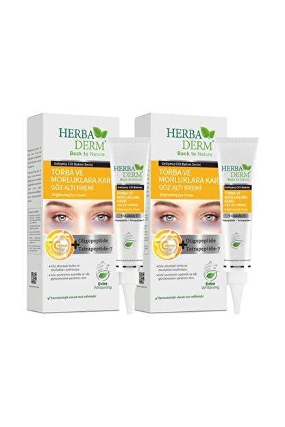 Herbaderm Göz Altı Torba Ve Morluk Karşıtı Krem 15 Ml 2'avantajlı Paket