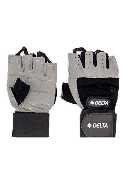 Delta Bilek Bandajlı Gri Ağırlık Body Fitness Eldiveni