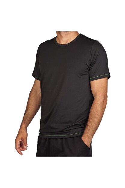 Exuma 171205 Erkek Siyah Spor Tişört