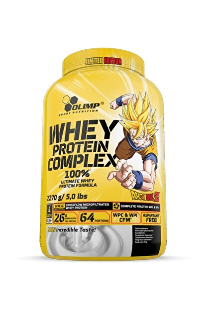 Olimp Whey Protein Complex White Chocolate And Raspberry Dragon Ball Z Edition
