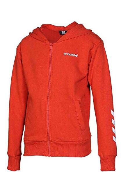 HUMMEL Çocuk Olivia Fermuarlı Kırmızı Sweatshirt 920995-3840