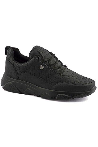 L.A Polo Erkek Siyah Spor Ayakkabı 005