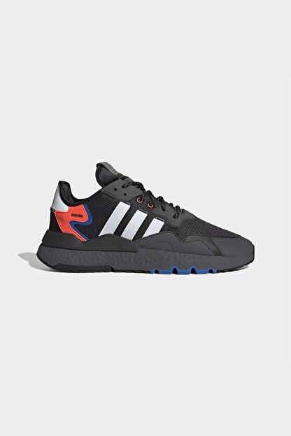 adidas Erkek Siyah Bağcıklı Sneaker