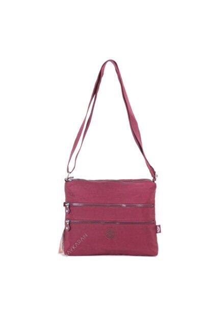 Smart Bags 1185 Postacı Kadın Çantası Bordo