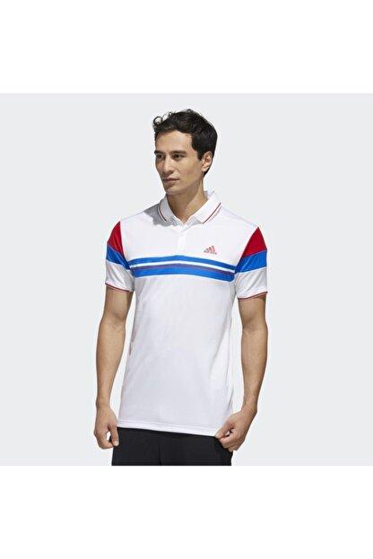 adidas Fk1406 Erkek Beyaz Polo Tişört