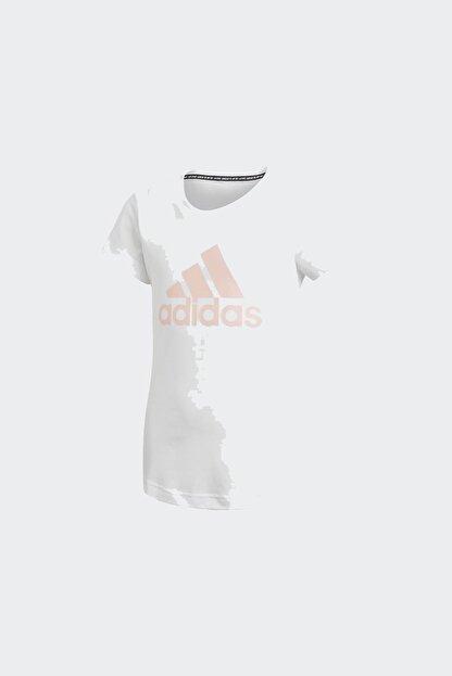 adidas YG MH BOS TEE Beyaz Kız Çocuk T-Shirt 101118170