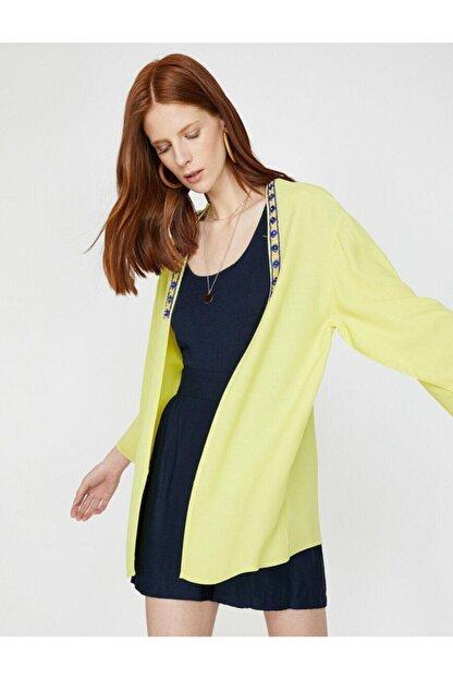Koton Kadın Sarı Kimono&Kaftan