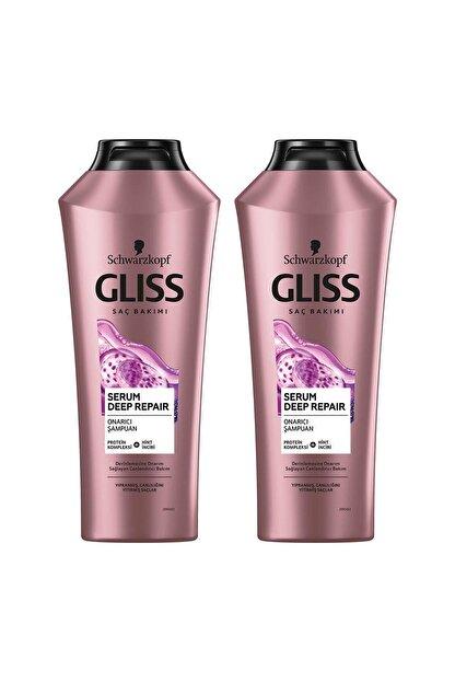 Gliss Serum Deep Repair Şampuan 360 ml X 2 Adet