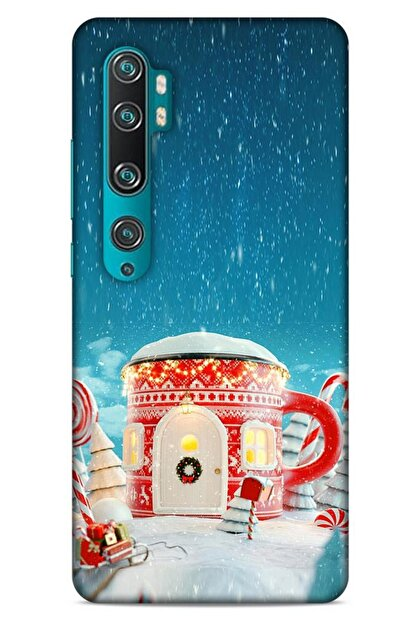 Lopard Xiaomi Mi Note 10 Pro Kılıf Snowix (3) Kapak Kırmızı Mavi