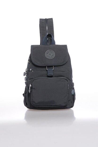 Smart Bags Smbk1138-0089 Füme Kadın Sırt Çantası