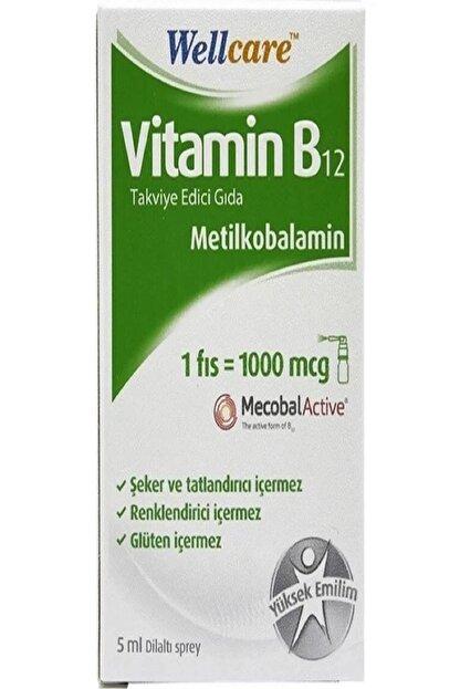 Wellcare Vitamin B12 Dilaltı Sprey 5 ml