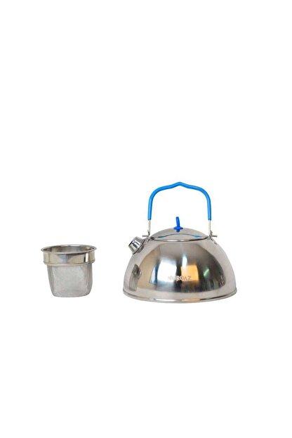 Nurgaz Krom Metalik Çaydanlık+Süzgeç Ng 197-K