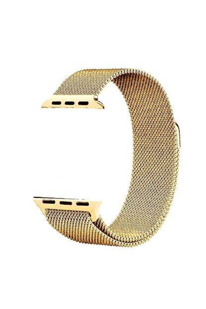 Zore Apple Watch 40mm Krd-01 Metal Kordon Gold