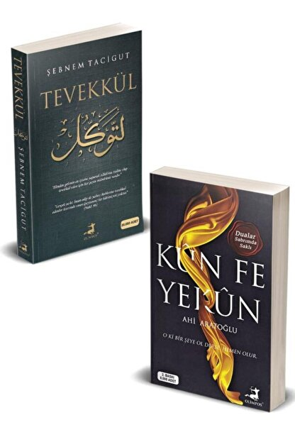 Olimpos Yayınları Tevekkül Ve Kün Fe Yekün - 2 Kitap