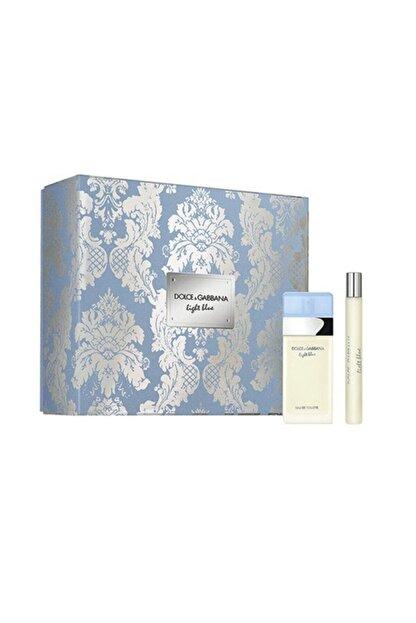 Dolce Gabbana Light Blue Edt 25 ml  Kadın Parfüm Seti 3423473145257