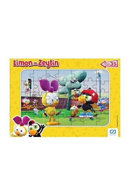 CA Games Limon Ile Zeytin 35 Parça Frame Puzzle
