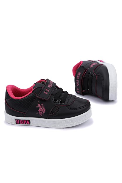 US Polo Assn CAMERON 1FX Siyah Kız Çocuk Sneaker 100909741