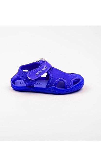 Akınalbella Unisex Çocuk Mavi Akınalbella Termo Taban Sandalet