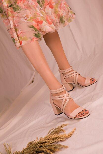 Soho Exclusive Ten Kadın Klasik Topuklu Ayakkabı 14670