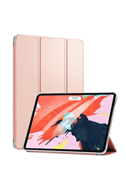Apple Microsonic Ipad Pro 11'' 2020 2. Nesil Kılıf (a2228-a2068-a2230) Smart Case Ve Arka Kapak Rose Gold