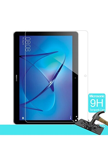 Huawei Microsonic Mediapad T5 10'' Temperli Cam Ekran Koruyucu