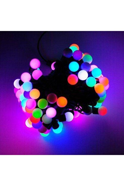 Hop Yanımda 5 Metre 28 Toplu Fişli Top Led Ip Led Eklenebilir Süs Led Işık Dekorasyon Led Dekoratif