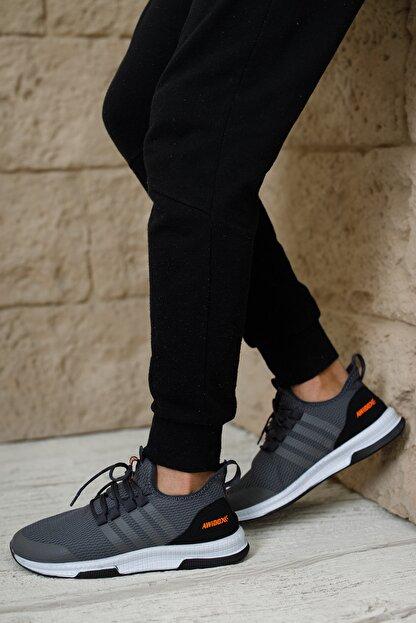 meyra'nın ayakkabıları Erkek Sneakar Füme