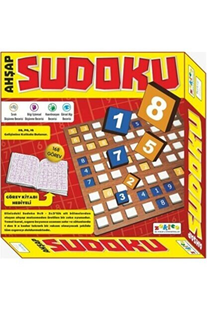 KITAPUS Ahşap Sudoku