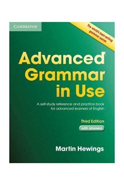 Cambridge University Press Advanced Grammar In Use Third Edition